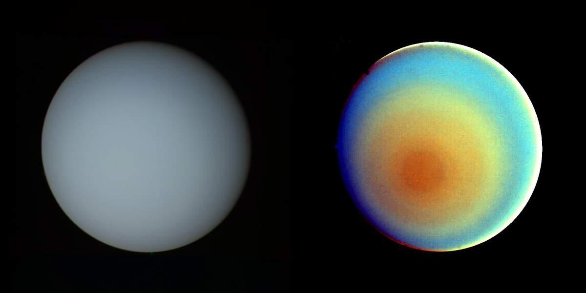 Planète Uranus 3D HD - Planète Astronomie